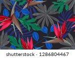 hi quality fashion design.... | Shutterstock . vector #1286804467