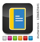 copy paper document icon   web... | Shutterstock .eps vector #1286825641