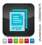 download pdf document icon  ... | Shutterstock .eps vector #1286825674
