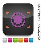 autofocus icon   digital photo...   Shutterstock .eps vector #1286825701
