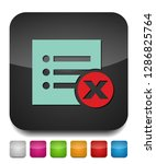 remove document icon   vector... | Shutterstock .eps vector #1286825764