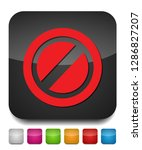 delete icon   no sign  close... | Shutterstock .eps vector #1286827207