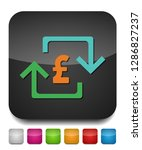 pound sign icon  currency sign  ... | Shutterstock .eps vector #1286827237