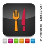 knife and fork icon  cutlery... | Shutterstock .eps vector #1286827264