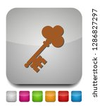 keys icon  safe and protection... | Shutterstock .eps vector #1286827297