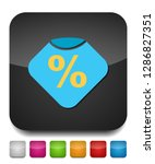 sale discount percent   offer... | Shutterstock .eps vector #1286827351