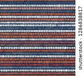 seamless striped polka dot... | Shutterstock .eps vector #1286838817