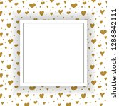 cute card with hand drawn... | Shutterstock .eps vector #1286842111