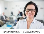 portrait of smiling...   Shutterstock . vector #1286850997