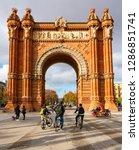 barcelona  spain   december 14  ... | Shutterstock . vector #1286851741