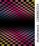 colored grids background... | Shutterstock .eps vector #1286882314