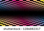 colored grids background... | Shutterstock .eps vector #1286882317