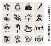 birthday | Shutterstock .eps vector #128688584