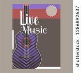 beautiful modern classical...   Shutterstock .eps vector #1286892637