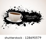 Background With Coffee Cup