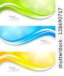 set of bright banners | Shutterstock .eps vector #128690717