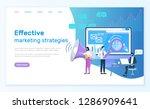 effective marketing strategies... | Shutterstock .eps vector #1286909641