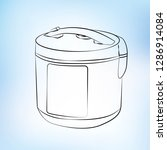 vector  contour  icon  multi... | Shutterstock .eps vector #1286914084