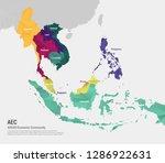 asean   association of... | Shutterstock .eps vector #1286922631
