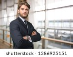 businessman portrait close up | Shutterstock . vector #1286925151