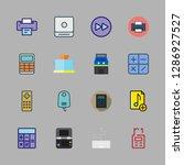button icon set. vector set... | Shutterstock .eps vector #1286927527