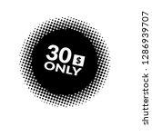 30 dollars only   emblem  label ...