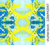 abstract marbling  ebru  ethnic ...   Shutterstock . vector #1286942047