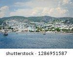 the aegean sea coast of turkey | Shutterstock . vector #1286951587