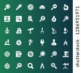discovery icon set. collection...   Shutterstock .eps vector #1286951971