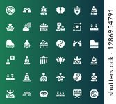 harmony icon set. collection of ...   Shutterstock .eps vector #1286954791