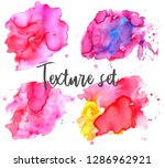 set of colorful abstract... | Shutterstock .eps vector #1286962921