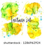 set of colorful abstract... | Shutterstock .eps vector #1286962924