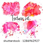 set of colorful abstract... | Shutterstock .eps vector #1286962927