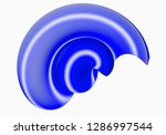 blue abstract figure from... | Shutterstock . vector #1286997544