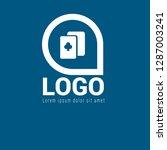 poker logo concept. designed...