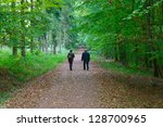Mature Couple Walking In The...