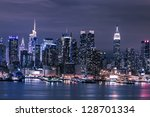 New York City Manhattan Skyline ...