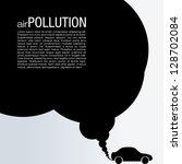 air pollution vector design  ... | Shutterstock .eps vector #128702084