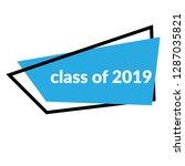 class of 2019 sign  emblem ...