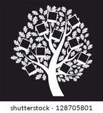 family  genealogical tree on... | Shutterstock .eps vector #128705801