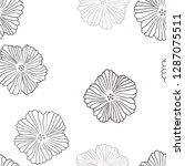light gray vector seamless...   Shutterstock .eps vector #1287075511