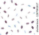 dark multicolor vector seamless ... | Shutterstock .eps vector #1287081817