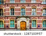 facade  courtyard  13th century ... | Shutterstock . vector #1287103957