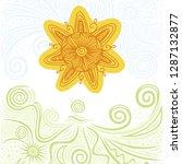 sun. vector illustration | Shutterstock .eps vector #1287132877