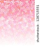 bubbles background cherry   Shutterstock .eps vector #128715551