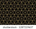 the geometric pattern with... | Shutterstock .eps vector #1287219637