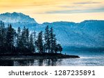 landscape at the walchensee... | Shutterstock . vector #1287235891