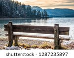 landscape at the walchensee... | Shutterstock . vector #1287235897