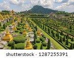 chonburi thailand october 18...   Shutterstock . vector #1287255391