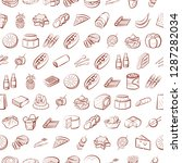 set of thumbnails. background... | Shutterstock .eps vector #1287282034